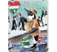 The Penguins From Budapest iPad Case/Skin