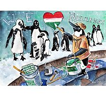 The Penguins From Budapest Photographic Print
