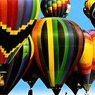Hot Air Balloons, Albuquerque by fourthwall
