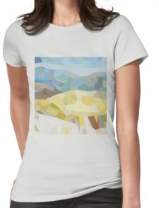 Hills Womens Fitted T-Shirt