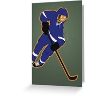 Gingerbread Lightning Greeting Card