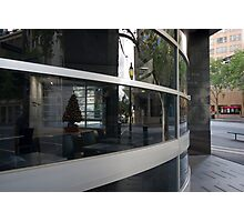 Collins Street reflection Photographic Print