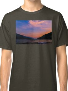 Sunset Lake Revelstoke  Classic T-Shirt