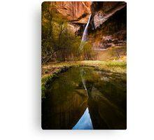 Lower Calf Creek Falls Canvas Print