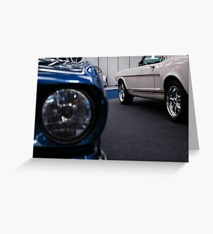 Classic Pony Cars Greeting Card