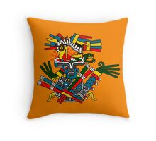 Eagle and Snake - Codex Fejervary Mayer 42 Throw Pillow