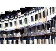Bristol - Royal York Crescent - Clifton by Sue Porter