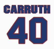 Basketball player Jimmy Carruth jersey 40 by imsport