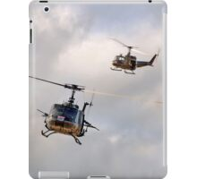 Bell UH-1 Iroquois Helicopters - (A Pair of Hueys) iPad Case/Skin