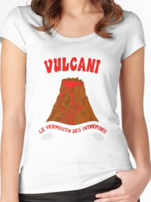 Vulcani - Le vermouth des intrepides Women's Fitted Scoop T-Shirt