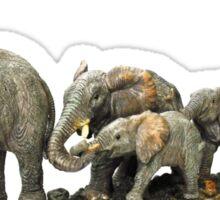 elephant walk Sticker