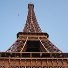 Eiffel Tower at Sunset by Peter Walters