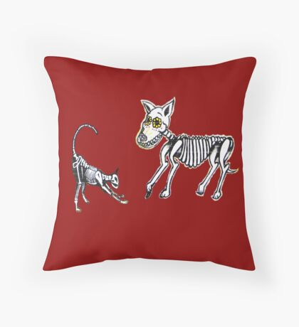Dead Cats and Dogs - Graffiti Tees 5 Throw Pillow