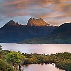 Cradle Mountain Sunset by Jim Langkopf
