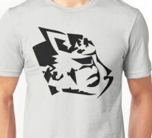 Feline Head Unisex T-Shirt