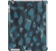 Navy Animal Pattern iPad Case/Skin