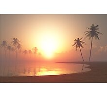Tropical Sunset Photographic Print