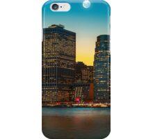 Moon over Manhattan iPhone Case/Skin