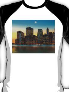 Moon over Manhattan T-Shirt