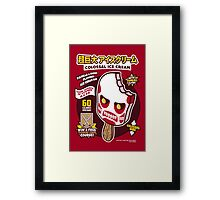 Colossal Ice Cream Framed Print