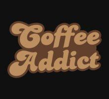 Coffee addict  Kids Tee