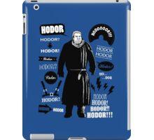Hodor Famous Quotes iPad Case/Skin