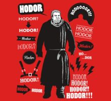 Hodor Famous Quotes Kids Clothes
