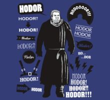 Hodor Famous Quotes by Olipop