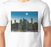Moon over Manhattan Unisex T-Shirt