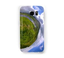 Teelin Bay from Roxborough fort, S. Donegal Samsung Galaxy Case/Skin