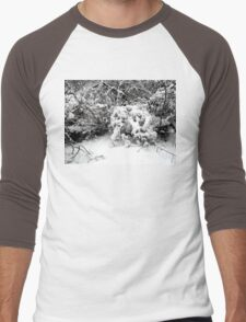 SNOW SCENE 1 Men's Baseball ¾ T-Shirt
