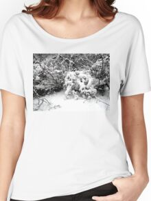 SNOW SCENE 1 Women's Relaxed Fit T-Shirt