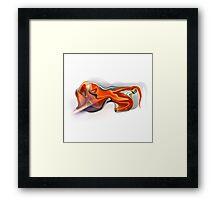 Leo zodiac sign Framed Print