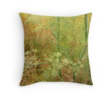 Wild Fennel Throw Pillow