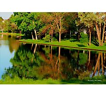 Ponnd Reflections Photographic Print