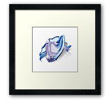 Pisces zodiac sign Framed Print