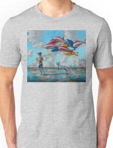 Bigger Fish to Fly Unisex T-Shirt