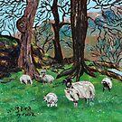 The Greens & Sheep of Yorkshire by Nira Dabush