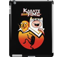 Karate Time iPad Case/Skin