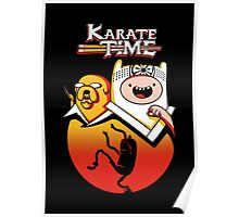 Karate Time Poster
