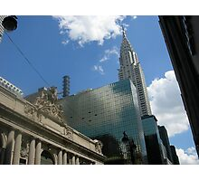 The Chrysler Building with Grand Central Station in Foreground Photographic Print
