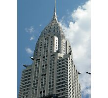 Top of The Chrysler Building Photographic Print
