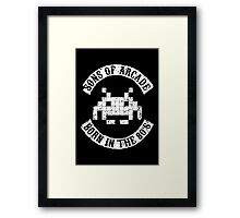 Sons of Arcade Framed Print