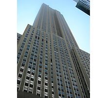 Looking Up at the Empire State Building Photographic Print