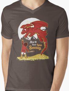 How to Train your Smaug Mens V-Neck T-Shirt