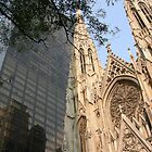 St. Patrick's Cathedral, New York by Leonard Owen