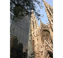 St. Patrick's Cathedral, New York Photographic Print