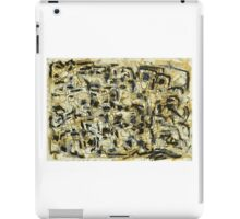 Oil Pastel and Ink iPad Case/Skin