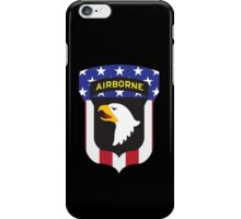 101ST AIRBORNE DIVISION PATRIOT iPhone Case/Skin