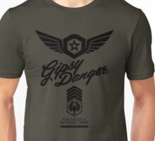 Gipsy Danger (Black) Unisex T-Shirt